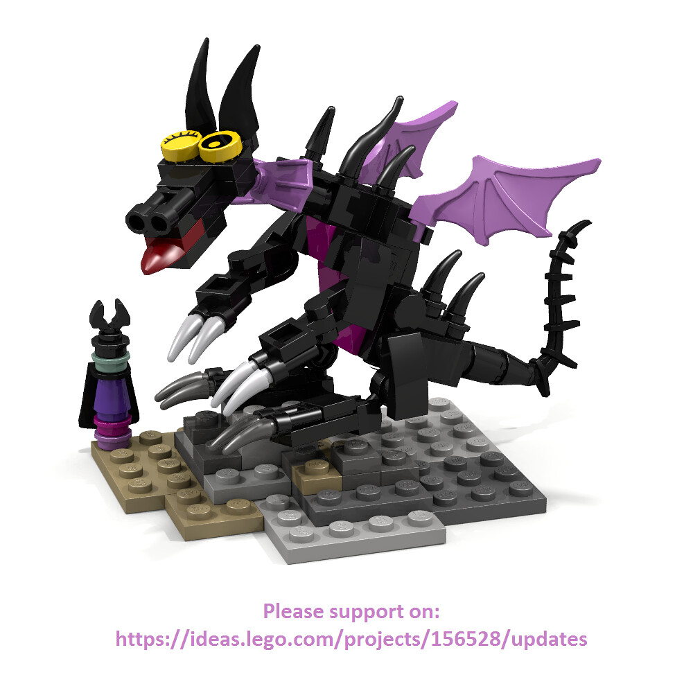 Lego Maleficent Minifigure The World's...