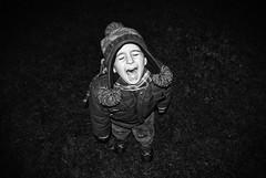 ... (Sareni) Tags: sareni serbia srbija vojvodina banat juznibanat alibunar sm savemuncana kid grass trava night noc ogi bw blackandwhite crnobela light svetlost winter zima december 2015 twop