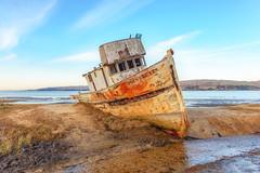 Point Reyes Shipwreck (runcolt12) Tags: pacificcoasthighway pacificocean pacific pointreyesnationalseashore pointreyeslighthouse pointreyesshipwreck california californiacoast bluehour bay sanfrancisco sky nikon d800e