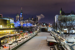 Christmastime Ottawa (coffeego) Tags: christmas december ottawa ontario canada capital parliament parliamentbuildings christmaslights 2016