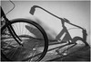 Bicicleta Y Sombra (Shadow & Bicycle) (Black and White Fine Art) Tags: canon20d canon eos 28105 usm canoneos28105usm bicicleta bicycle sombra shadow