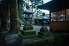 Tenso Shrine 天祖神社 (Chen Yiming) Tags: asia japan japanese kyushu oita yufuin kinrin ko lake mist fog morning toro lantern shinto shrine temple tenso jinja