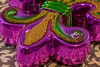 Fleur de Lis (Marcy Leigh) Tags: 117picturesin2017 fleurdelis nola neworleans mardigras beads purple green gold macro tamron90mm bold color colour boldcolor boldcolour bright pretty warm