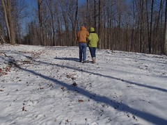 A stroll with my hubby (picsbyrita) Tags: 365daysin2017 stroll woods snow ansh thesimplelife scavenger7 odc simplepleasure weather 42weather 52in2017