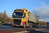Volvo FH4 'George Varney Bulk Services Ltd' reg BX65 HRN (erfmike51) Tags: volvofh4 truck artic euro6 bulktipper lorry georgevarneybulkservicesltd