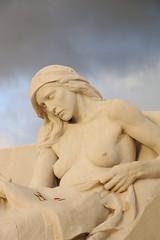 Mémorial de Vimy (pascalchantier) Tags: ciel nuage 1418 mémorial vimy