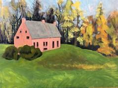 WIP Lukas Van Allen house Kinderhook, NY (Handwork Naturals) Tags: newyork luykasvanalen house kinderhook historic edenscovillehart