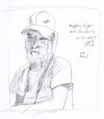 People Sketches 4 (jimblodget) Tags: sketch portrait faces pencil people