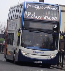 Birkenhead (Andrew Stopford) Tags: mx56fsn adl trident enviro400 stagecoach birkenhead