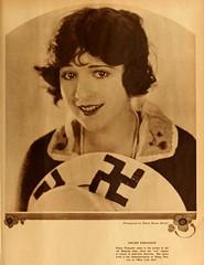 NOT Helen Ferguson being a Nazi (Jo Hedwig Teeuwisse) Tags: helenferguson swastika photo nazi 1921 1920s fashion movies