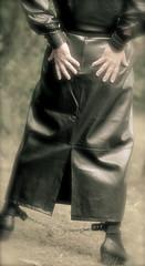 ©seductrice photographic (rubber seduction) Tags: klepper rubber sub handcuffs cross latex