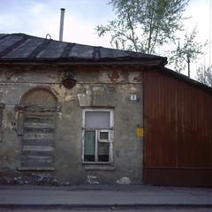 3, Bukhonovsky bystreet, Tula, Russia (Yuree M) Tags: rolleiflex 6008af xenotar 80 28 fujifilm velvia 50 film epson v700 tula russia e6 120 6x6 medium format autaut
