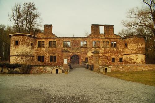 Moated Castle Menzingen - Front / Wasserschloss Menzingen - Vorderseite