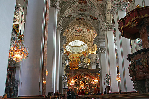 Mariazell cathedral interior