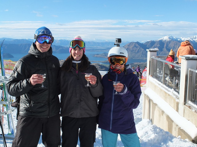 Treble Cone Opening Day 2014 - Amisfield Bubbles