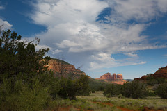 2015 Day 165 - Castle Rock Walk (Ian Gratton) Tags: arizona sky usa cloud holiday landscape us unitedstates sedona castlerock 2015