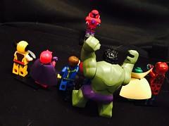 Onslaught vs marvel superheroes (Letgoofmylego) Tags: lego ironman cyclops vision superheroes hulk marvel wolverine magneto onslaught supervillain marvelsuperheroes