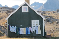 Laundry day, Tasiilaq, Greenland (Florence3) Tags: laundry greenland aug2014