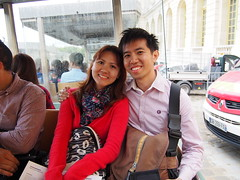 Met this lovely couple from Singapore in Versailles!