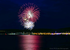 TT Firework Display 2015 (cabmanstu) Tags: beach night display fireworks promenade motorcycle tt douglas races isleofman