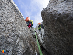 A look above (HendrikMorkel) Tags: mountains alps mountaineering chamonix alpineclimbing artedescosmiques arcteryxalpineacademy2015