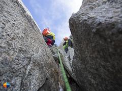 A look above (HendrikMorkel) Tags: mountains alps mountaineering chamonix alpineclimbing arêtedescosmiques arcteryxalpineacademy2015