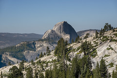 Faraway Dome (KGHofSF) Tags: california summer sky mountains nature landscape photography photo nationalpark rocks pines yosemite granite halfdome olmstedpoint kgh sierranevad