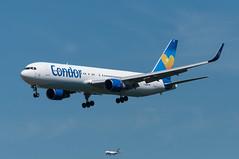 D-ABUF (GerardvdSchaaf) Tags: airplane frankfurt aircraft aviation boeing condor airliner boeing767 767300 eddf dabuf