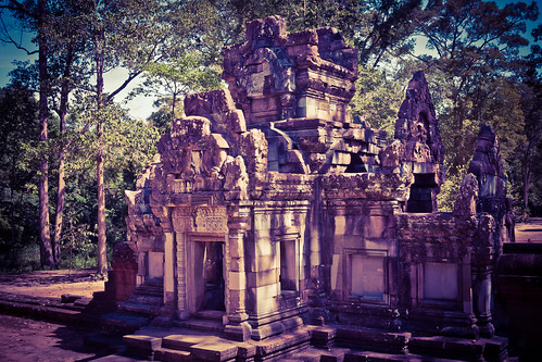 2015-05-21 Cambodia Day 2. Chau Say Tevoda Temple, Siem Reap