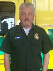 Paramedic Craig Cassidy (London Ambulance Service) Tags: las portrait london project faces ambulance service 50 paramedic