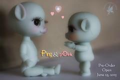 CCC Piggies (Lil' pOtbellies) Coming! (chartar_69) Tags: poink charlesstephan lilpotbellies pigbjd charlescreaturecabinet pigballjointeddoll piganthro pingpelliepotbellie