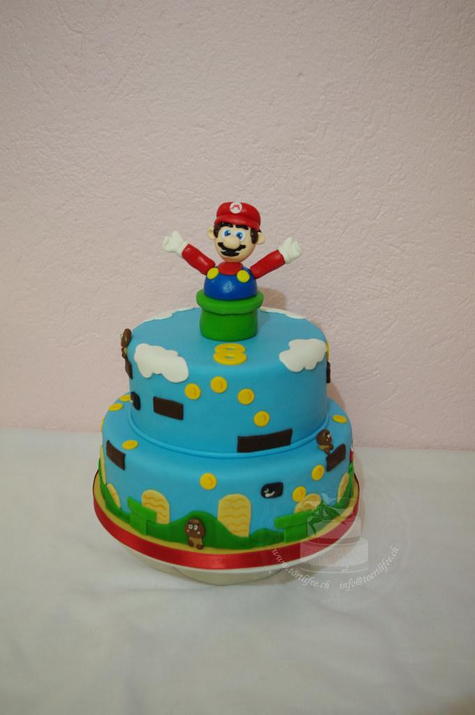 Paper Mario Mousse Cake