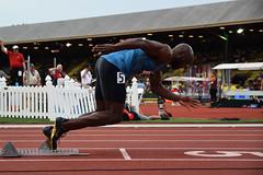 Merritt in Men's 400m (meerahpowell) Tags: sports sport oregon track outdoor running run eugene uo emerald uofo universityoforegon trackandfield dailyemerald thedailyemerald