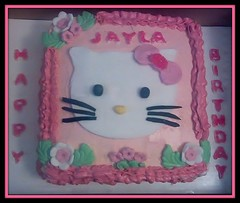 Hello Kitty Cake by Erin, Auburn, AL, www.birthdaycakes4free.com