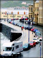 6 July 2015 - Meandering Through Aberystwyth (penny_chicken) Tags: road old college wales cymru aberystwyth promenade meander seafront ceredigion