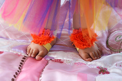 Leilany's First Birthday (PriscillaDPhoto) Tags: pink roses portrait baby feet closeup toddler colorful blanket littlegirl firstbirthday oneyearold tutu childportrait