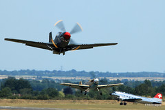IMG_7762 (harrison-green) Tags: show sea museum plane flying war fighter aircraft aviation air airshow legends duxford imperial spitfire mustang fury iwm me109 2015