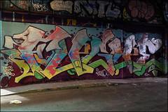 Fugue (Alex Ellison) Tags: urban graffiti boobs waterloo halloffame graff hof paintjam thetunnel southeastlondon fugue leakestreet battlecancer
