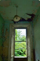 Room With A View (Michelle O'Connell Photography) Tags: abandoned window photography scotland glasgow room urbandecay michelle mansion decomposition desolate lampshade derelict convent oconnell lightshade brokenwindow nunnery decompose maryhill lostplaces prioress glasgowscotland acrehouse maryhillglasgow acreroad nunhouse