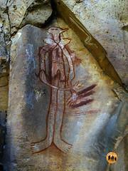 Ancient Aboriginal Rockart: Jatbula Hiking Trail, Katharine, Australia (Shane Bartie) Tags: aboriginal rockart katherinegorge shanebartie jatbulahikingtrail natimuknationalpark