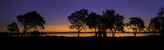 Sunsets over Lake Macquarie
