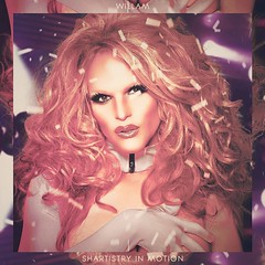 Willam - Shartistry In Motion (alexdotpsd) Tags: motion art race season drag four design artwork phi graphic chad o album 4 sharon queen cover single editing needles belli hara michaels willam rupaul in shartistry