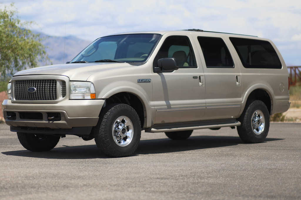2004 ford excursion limited 4x4 diesel suv for sale. Black Bedroom Furniture Sets. Home Design Ideas