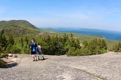 Overlook view from the Beehive summit (daveynin) Tags: island coast nps maine trail hiker overlook acadia deaftalent deafoutsidetalent deafoutdoortalent