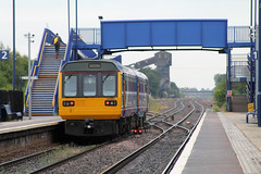 One  Less (marcus.45111) Tags: train flickr diesel railway passenger canondslr pacer 2015 flickruk northernrail canoncameras 142094 hatfieldandstainforth hatfieldcolliery canon1100d