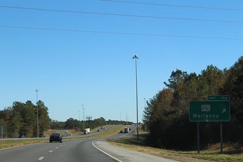 Florida I10eb Exit 136