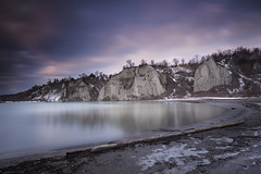Merry Christmas (andrewpmorse) Tags: scarborough bluffs scarboroughbluffs toronto longexposure leefilters canon 6d 1635f4l landscape water lake lakeontario ontario canada sky winter cold cliffs