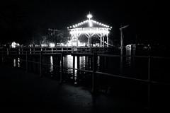 Now And Then - Abend am Bodensee (monochrome) (macplatti) Tags: night nightshot nachtaufnahme lichter lights candle lake water dark romantic monochrome bregenz vorarlberg austria aut