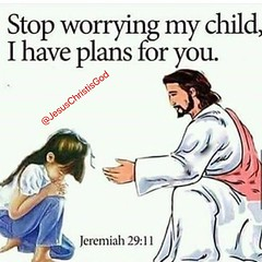 "Jeremiah 29:11 For I know the plans I have for you,"" declares the Lord, ""plans to prosper you and not to harm you, plans to give you hope and a future. (Jesus Christ Is God) Tags: god love follow pray blessed prayers biblequotes bible jesus bibleverse jesusfreak jesuslovesyou christian christianquotes jesusisgod wordofgod church worship fellowship faith"