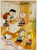 """""""Christmas Fun"""" by Charles Schulz (pau_hana_puzzlers) Tags: bakingcookies peanutsgang charlie charliebrown sallybrown snoopy lucyvanpelt linusvanpelt marcie woodstock"""